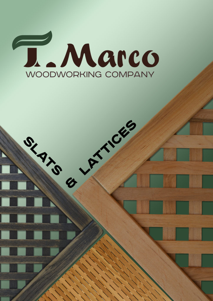 Presentation of T.Marco products page 1