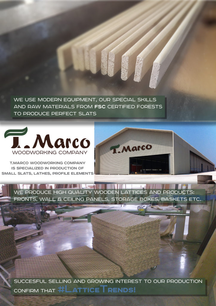 Presentation of T.Marco products page 2