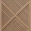 Решітчастий дерев'яний фасад T.Marco B2 фото 1