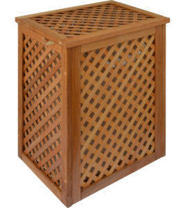 Variants of processing of wooden lattice boxes Oiling