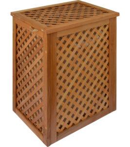 Варианты отделки деревянных решетчатых ящиков Натуральное масло