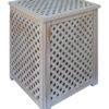 Variants of processing of wooden lattice boxes Provence