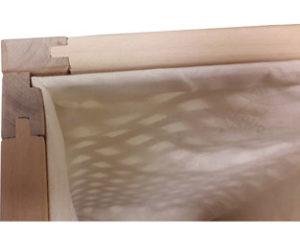 Особенности деревянных решетчатых ящиков Съемный мешок внутри