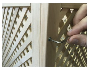 Features of wooden lattice storage boxes Easy assembling