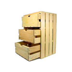 Комод дерев'яний T.Marco з 3-ма ящиками
