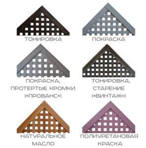 Обработка деревянных декоративных ящиков
